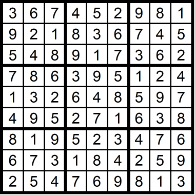 Sudoku Hard September 25, 2020