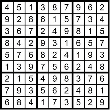 Sudoku Medium 2 September 25, 2020
