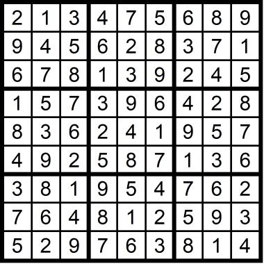 Sudoku Medium October 9, 2020
