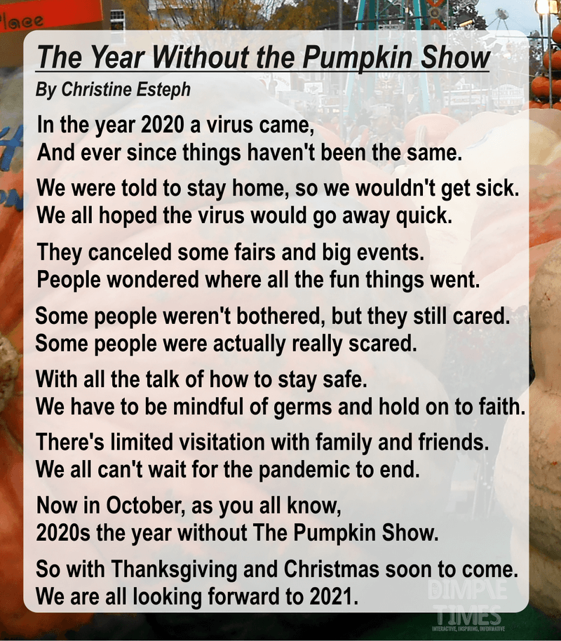 The Year Without the Pumpkin Show