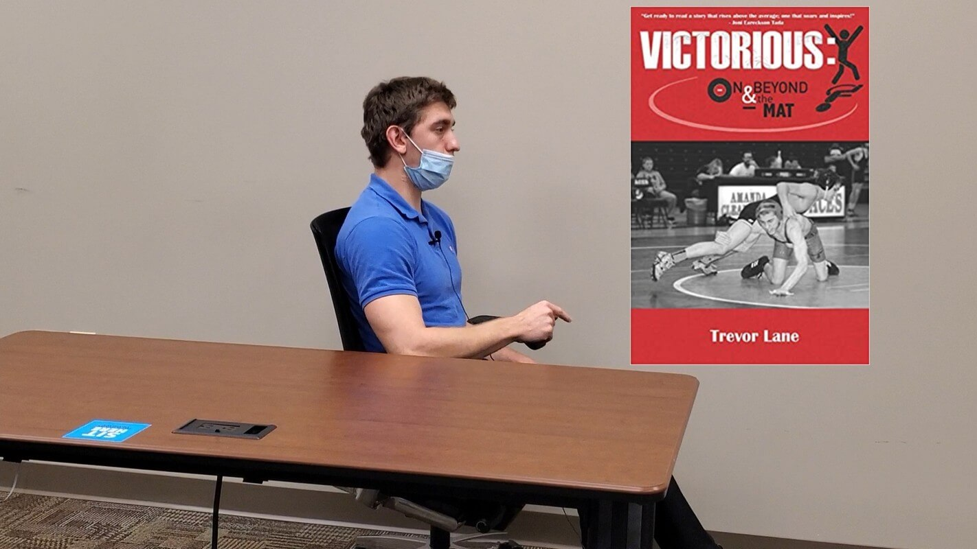 Trevor Lane Talks about his new book Victorious - On and Beyond the Mat