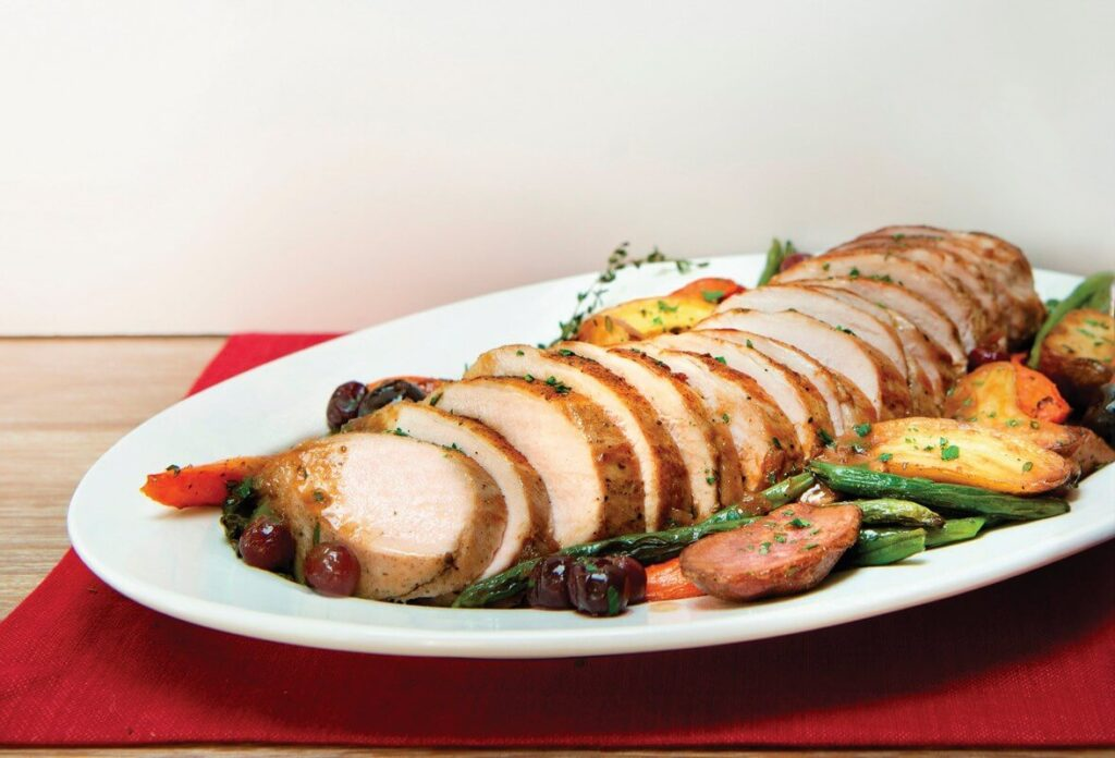 Flavorful holiday dishes prepped in minutes for small, family gatherings