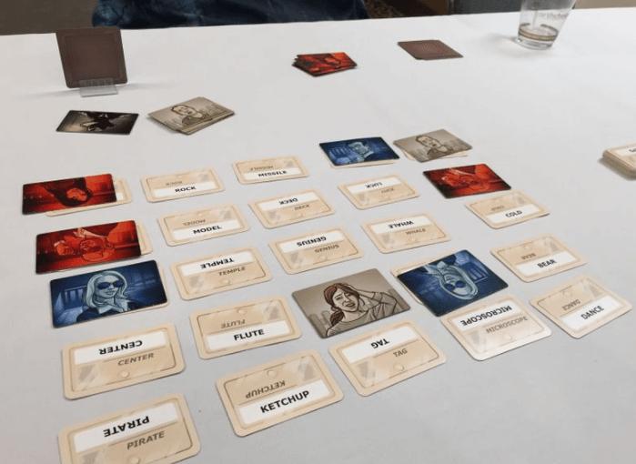 CodeNames boardgame
