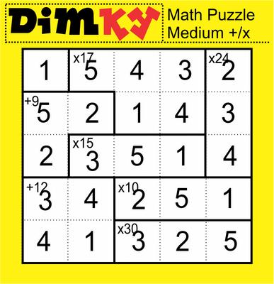 DimKey Math Puzzle November 20, 2020