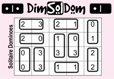 DimSolDom Solitaire Dominoes November 20, 2020