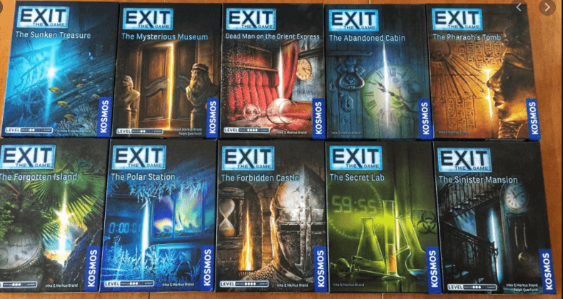 EXIT the Game (Many titles)