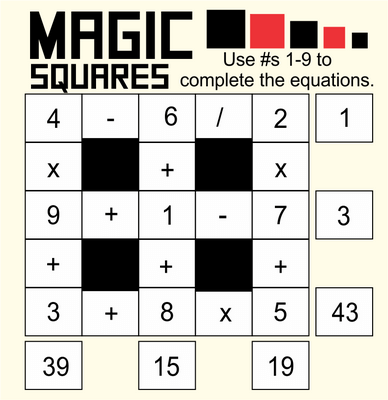 Magic Squares November 20, 2020