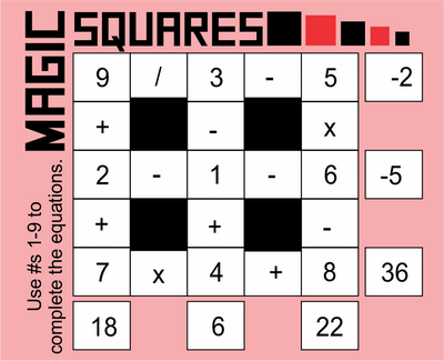 Math Squares November 6. 2020
