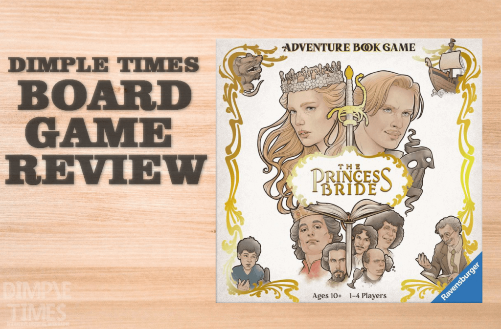 The Princess Bride Adventure Game Book by Ravensburger Games – Boardgame Review