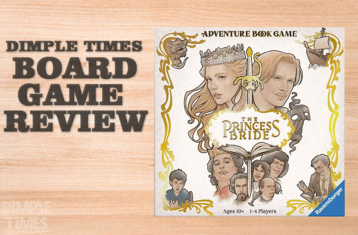 Princess Bride Adventure Game Book by Ravensburger Games
