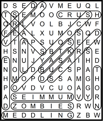 Scooby Doo Word Search