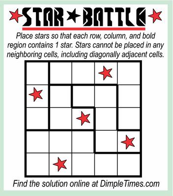 Star Battle November 6, 2020