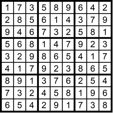 Sudoku Easy November 6, 2020