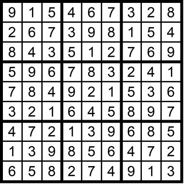 Sudoku Hard November 6, 2020