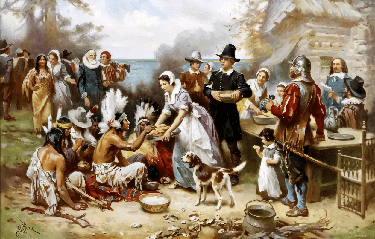 The first 'Thanksgiving'