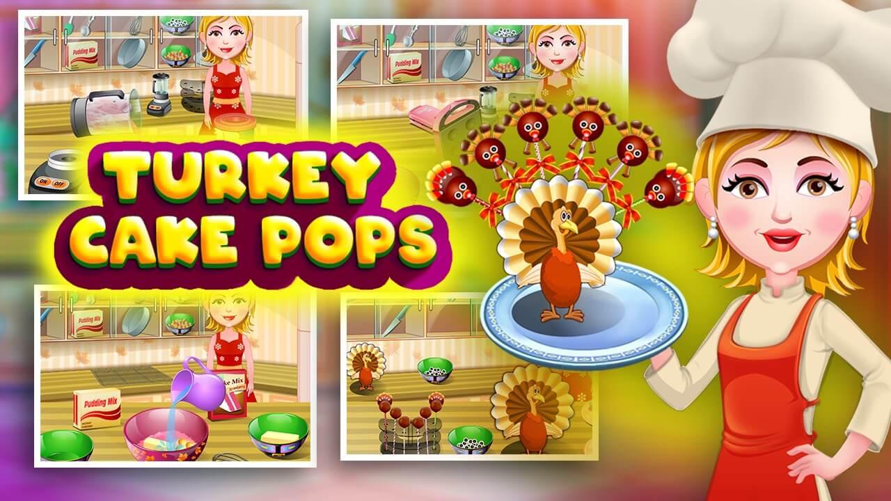 Turkey Cake Pops - 1280x720