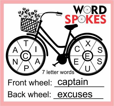 Word Spokes November 6, 2020