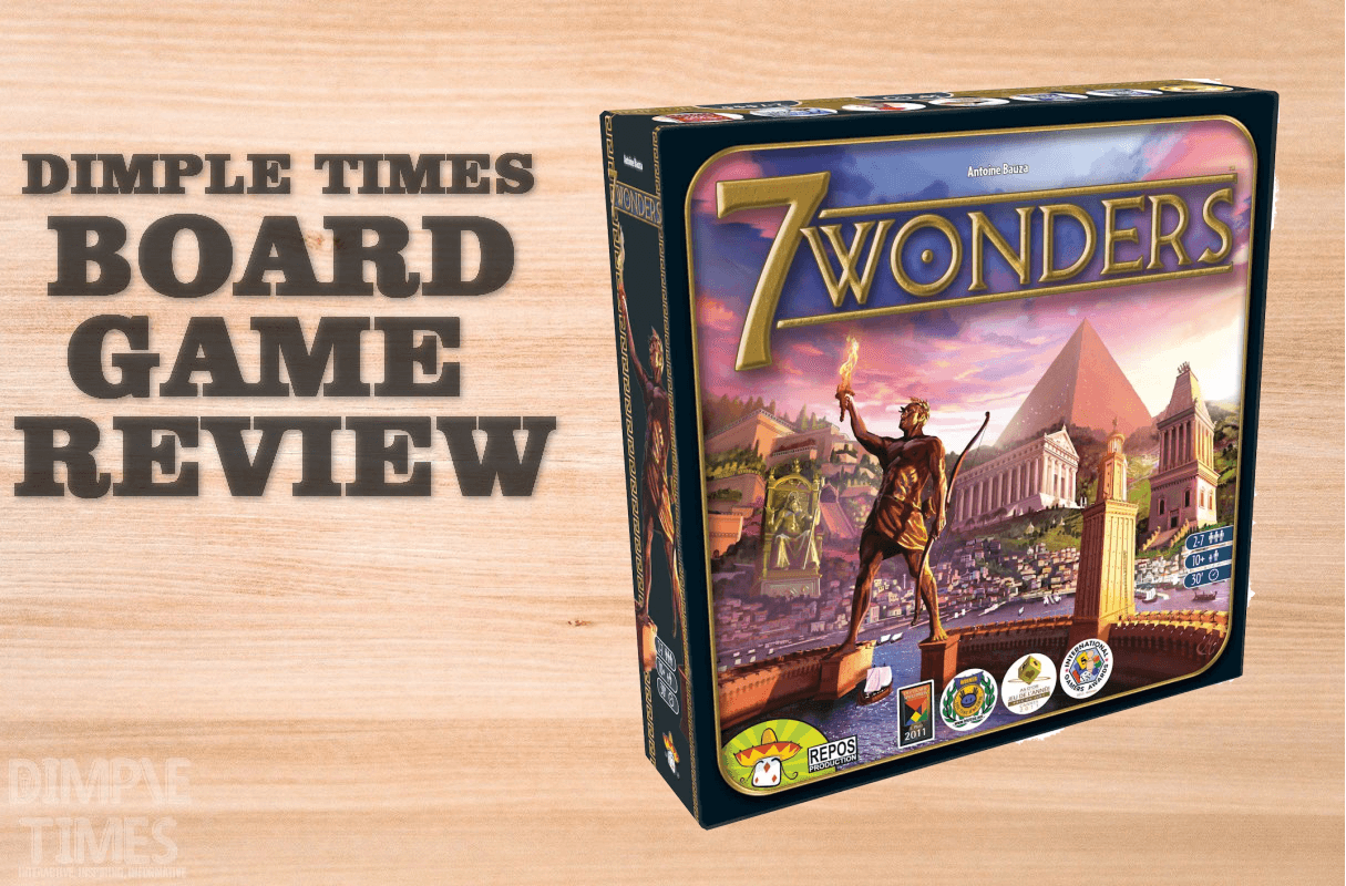 7 Wonders by Repos Production - Boardgame Review