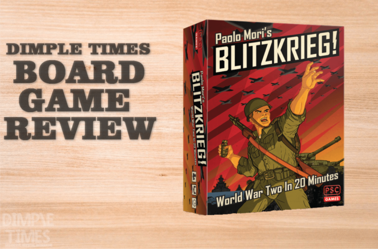 BLITZKRIEG! By Paolo Mori Boardgame Review