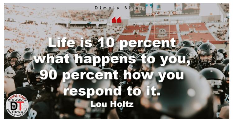 Lou Holtz quote