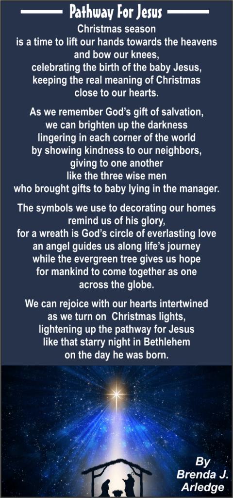 Pathway to Jesus Poetry