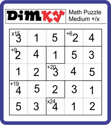 Dimkey Math Puzzle January 14, 2021