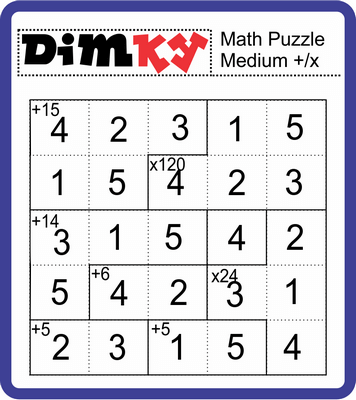 Dimkey Math Puzzle January 28, 2021