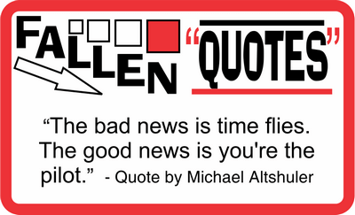 Fallen Quotes January 28, 2021
