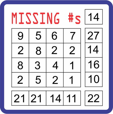 Missing Numbers January 14, 2021