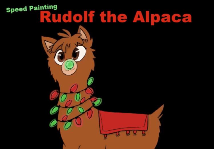 Rudolf Speed Painting Dec 2020 photo