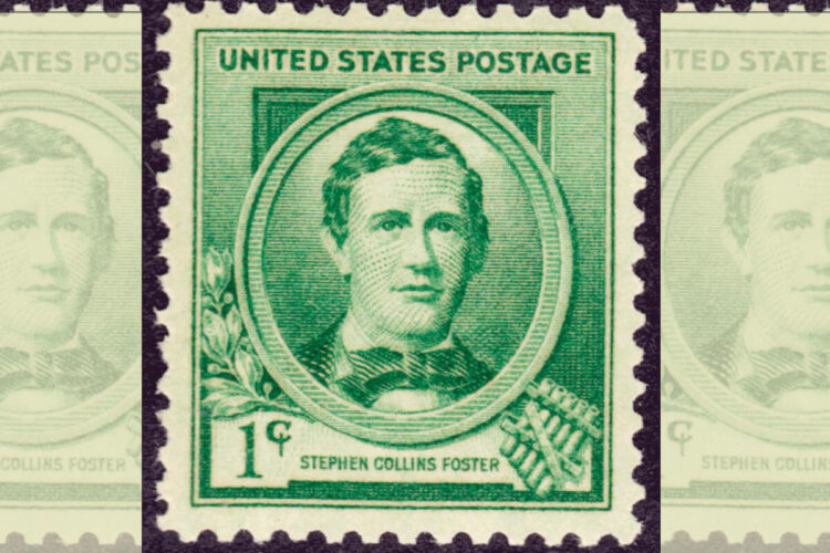 Stephen Foster Postage Stamp Cover