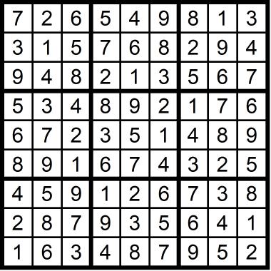 Sudoku Easy January 14, 2021