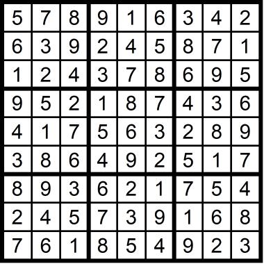 Sudoku Easy January 28, 2021