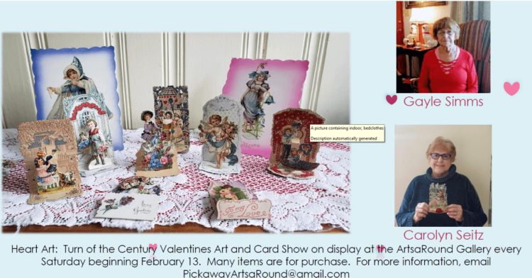 Valentines Art and Card Show