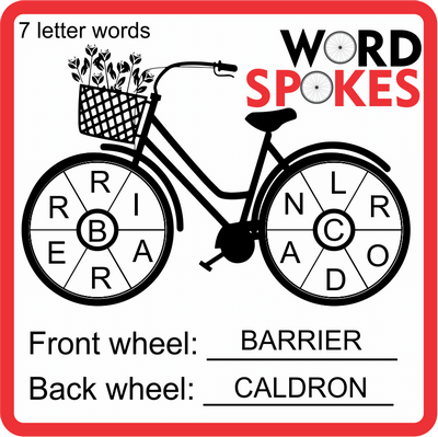 Word Spokes January 28, 2021