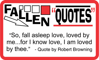 Fallen Quotes February 11, 2021
