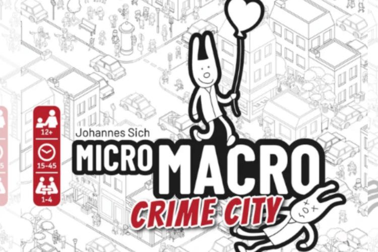 MICROMACRO CRIME CITY by Pegasus Spiele