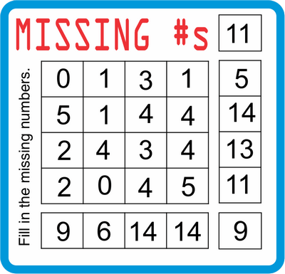 Missing Numbers February 11, 2021