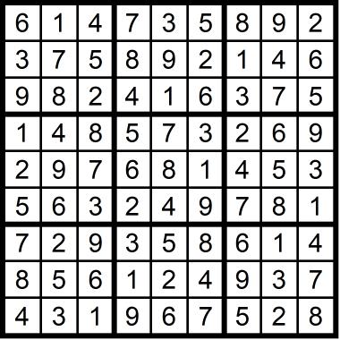 Sudoku Medium February 11, 2021