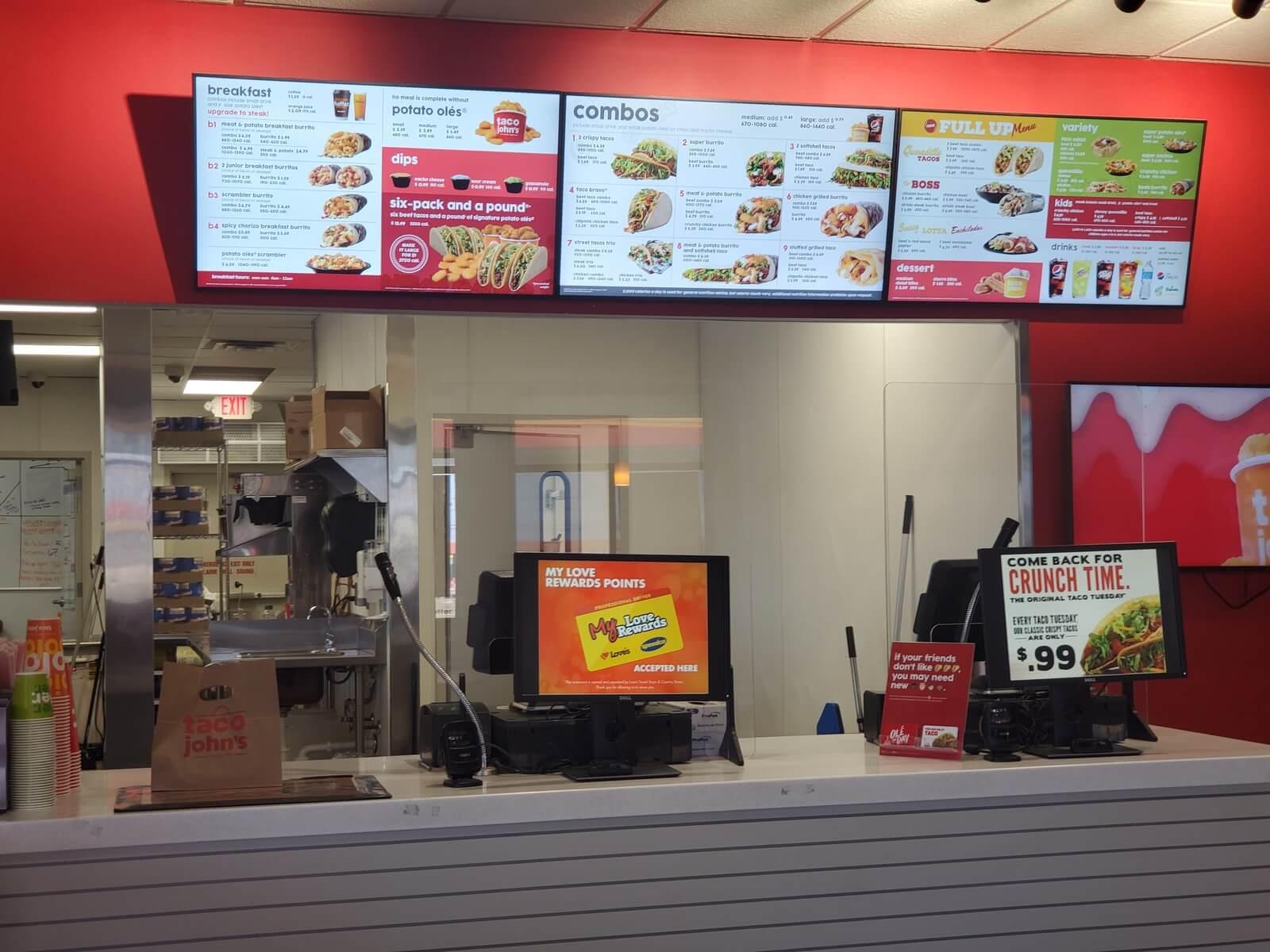 Taco Johns in Loves - Circleville, Ohio