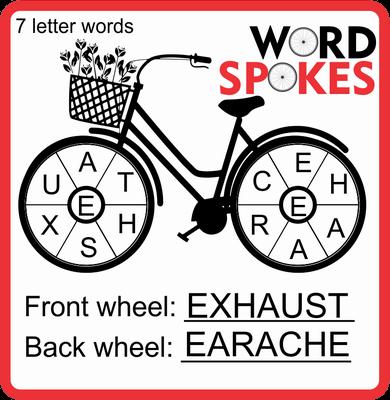 Word Spokes February 11, 2021