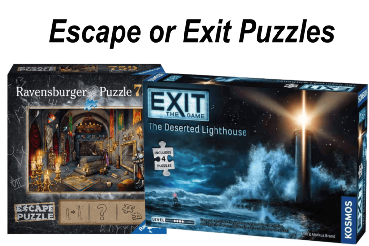 Escape or Exit Puzzles Boardgame Review