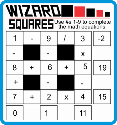 Wizard Squares February 11, 2021