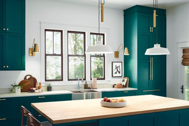 Infuse living spaces with color