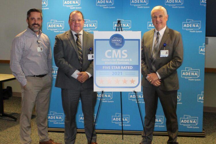 Adena regional medical center named five-star hospital by CMS