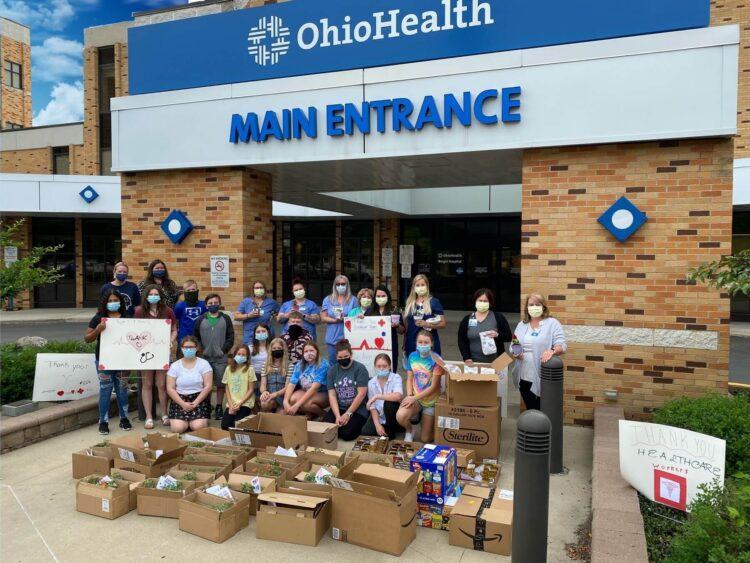 TVEMS donates to front line associates