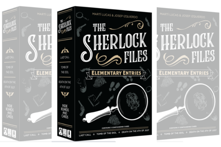 The Sherlock Files by Indie Boards Cards boardgame review