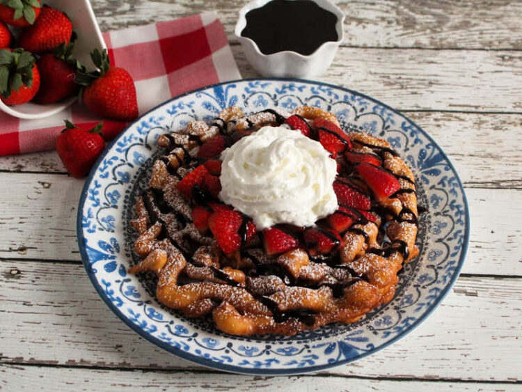 Fair Funnel cakes at home