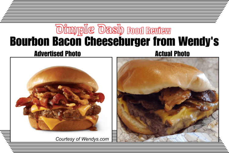 Bourbon Bacon Cheeseburger from Wendy's Food Review